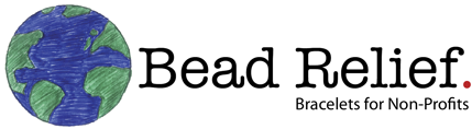 Bead Relief Logo - Bracelets for Non-Profits