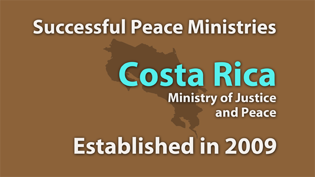 Costa Rica Ministry of Justice and Peace